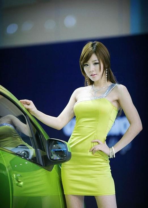 韩国车模黄美姬12