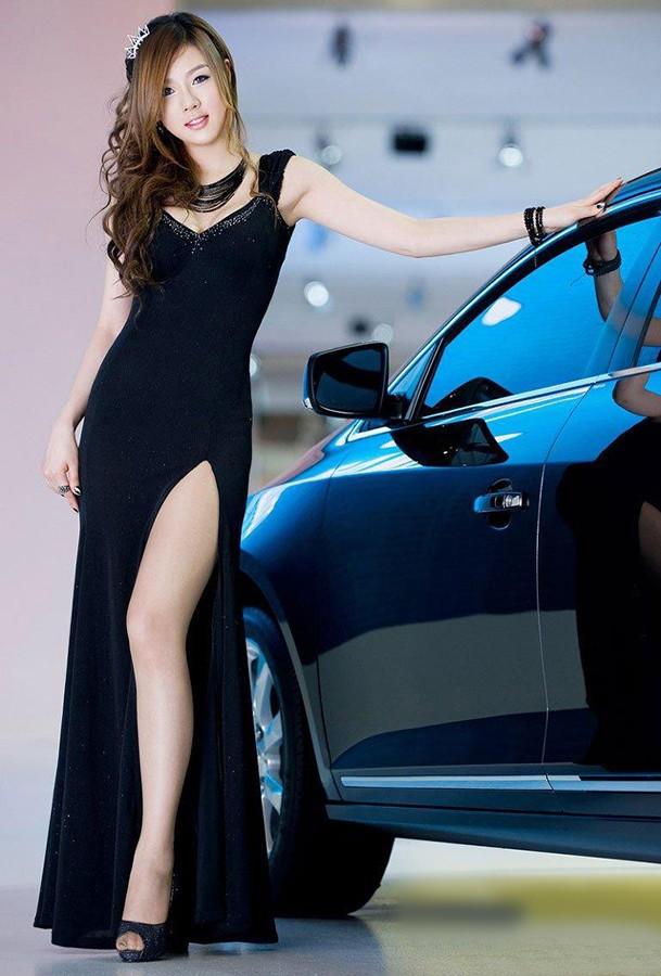 韩国车模黄美姬21