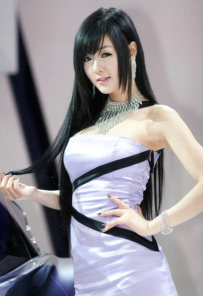 韩国车模黄美姬23