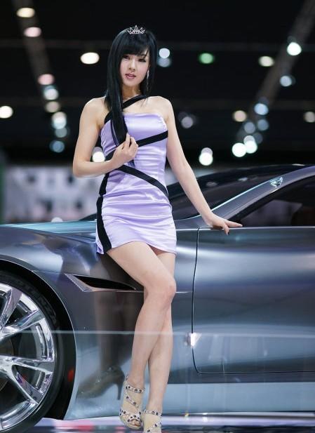 韩国车模黄美姬19