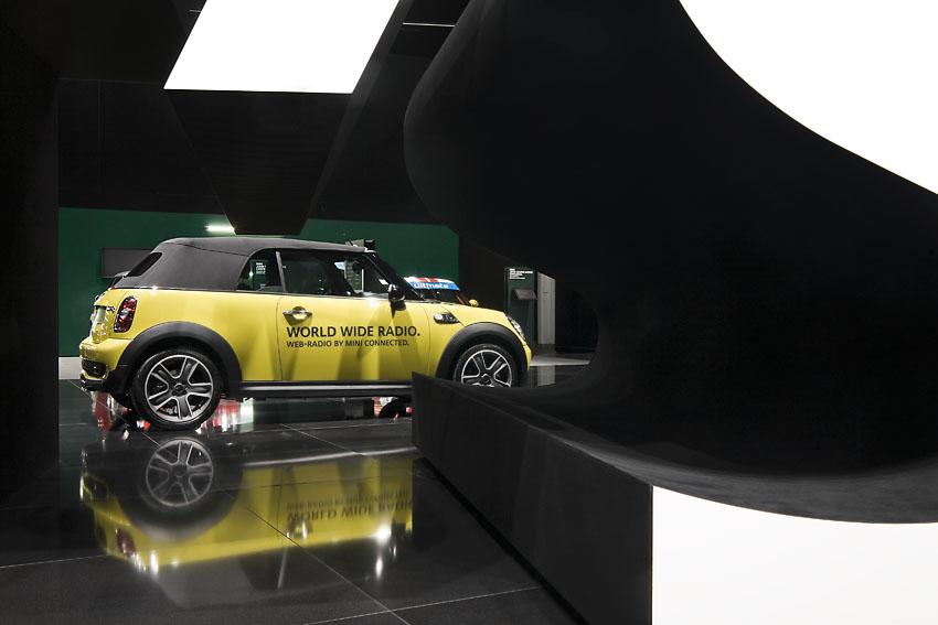 逼格十足 宝马集团历届车展展台设计高清图片