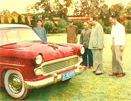 红旗轿车从此定型.红旗CA72成为了中国有编号的第一辆真正的红旗高清图片