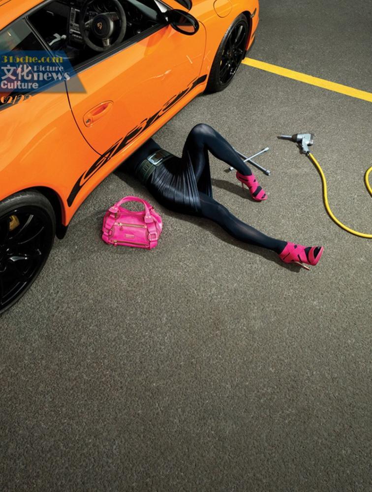 国内外汽车平面广告盘点 谁最高清图片